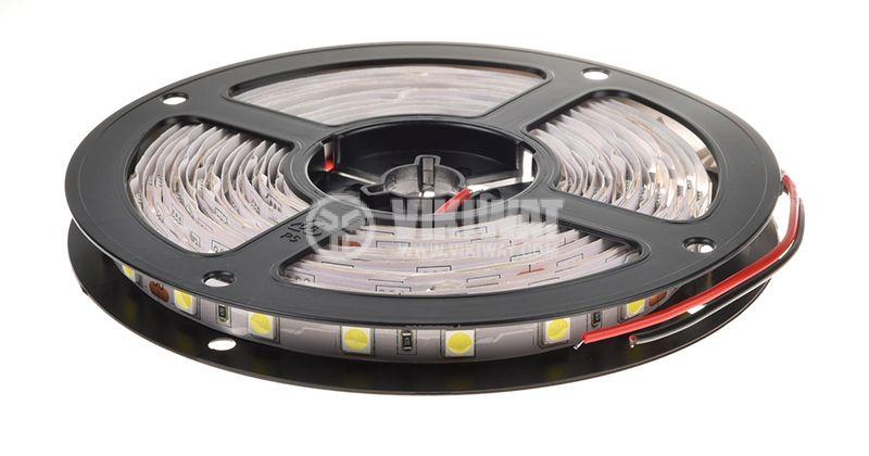 Светодиодна лента LED, 60 диода на метър, неутрално бяла, 24VDC, 14.4W/m - 3