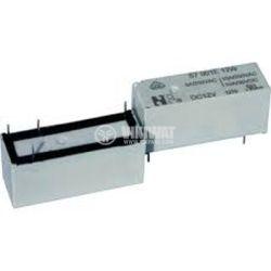 Реле електромагнитно, SPNO, бобина 24VDC, 250VAC/10A, S7100E24W