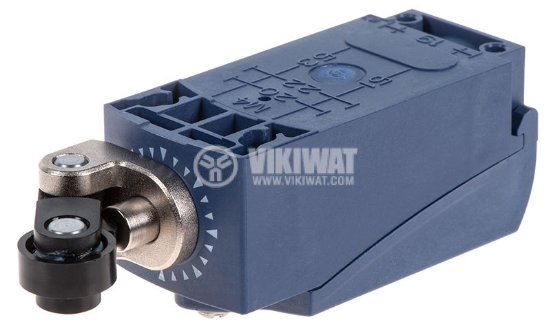 Краен изключвател, XCKP2121P16, NO+NC, 240VAC / 250VDC, 10A, рамо с ролка - 2