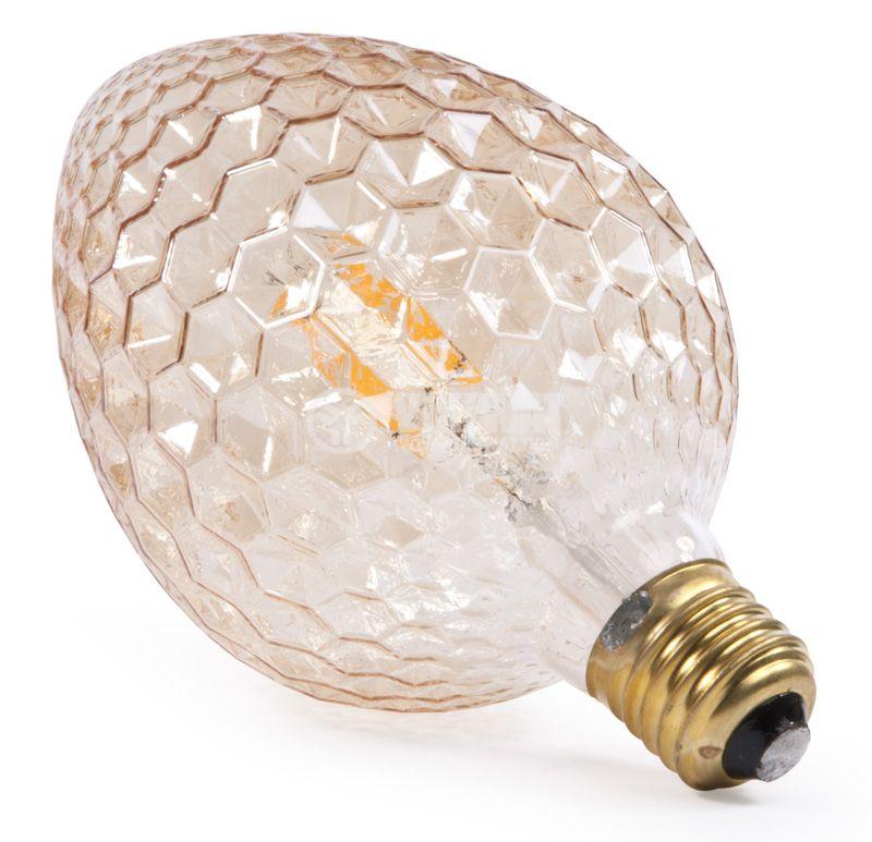 LED лампа BB55-00420, Е27, 4W, 2200K, 350LM, топло бяла - 4