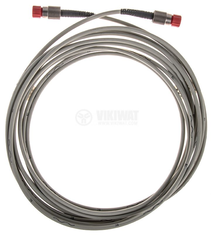 Single optical fiber HPC-S0.66 with two tailpipes, 4 m - 1