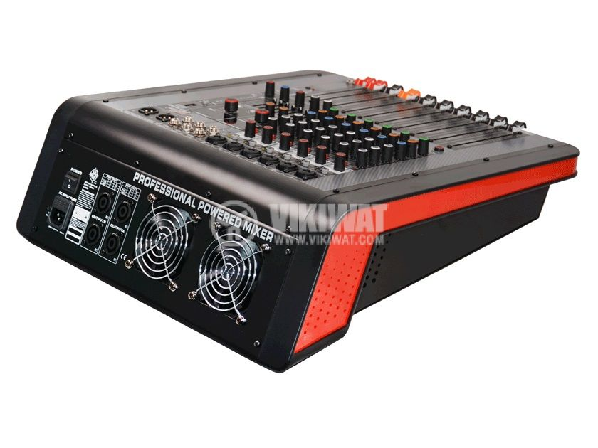 Professional mixer MPX-6300UB, 6-channel, Bluetooth, USB, MP3 - 3