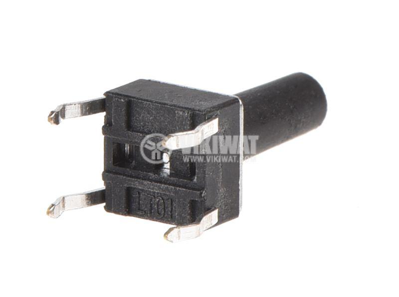 Микробутон 6x6x9mm SPST OFF-(ON) THT - 2