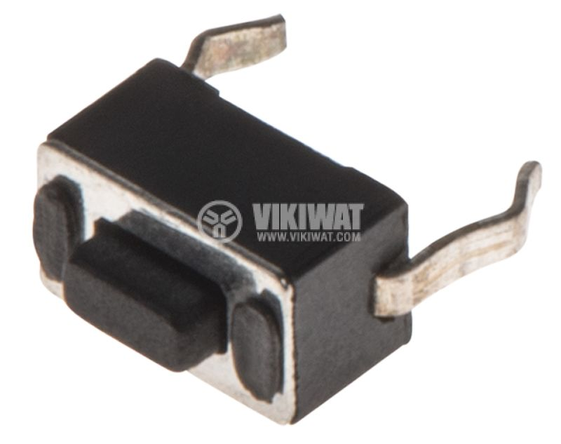 Микробутон, 6x4x4mm, SPST, OFF-(ON), THT - 1