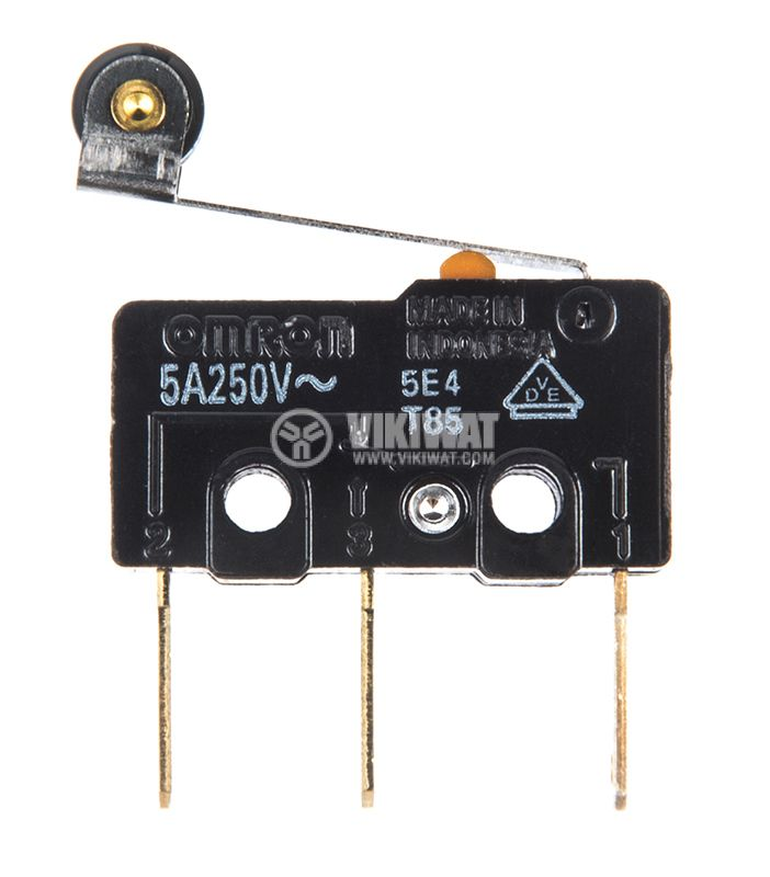 Микропревключвател лост с ролка - 1