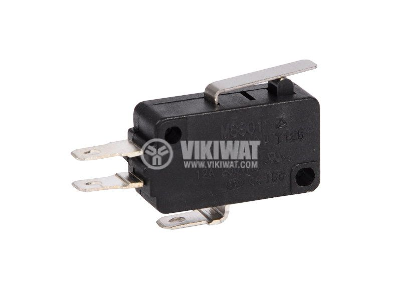 Micro Switch, 16A, 250VAC, SPDT, NC+NO - 1