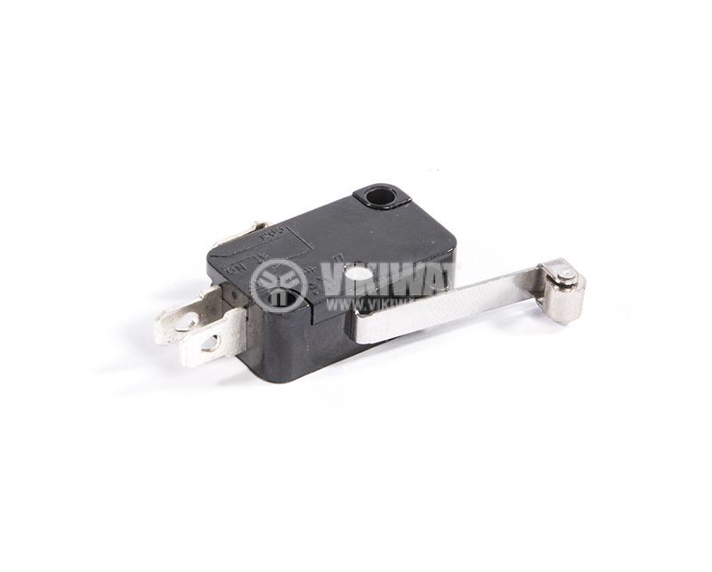 Microswitch with lever, 20А, 250VAC, SPDT, NC+NO - 2