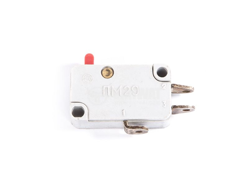 Microswitch, 10А, 250V, SPDT, NC+NO - 1