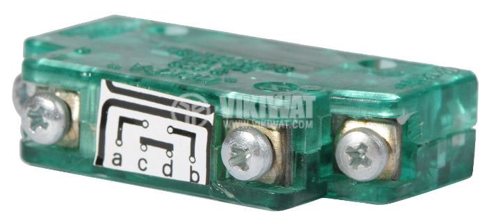 Microswitch, S800, 380VAC, 10A, DPST-NO + NC - 2