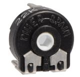 Тример потенциометър еднооборотен линеен, 22 kOhm