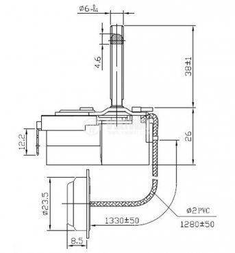 Терморегулатор, капилярен, WY90-965-22XA, +30 °C +90 °C, NO+NC, 16 A / 250 VAC - 3