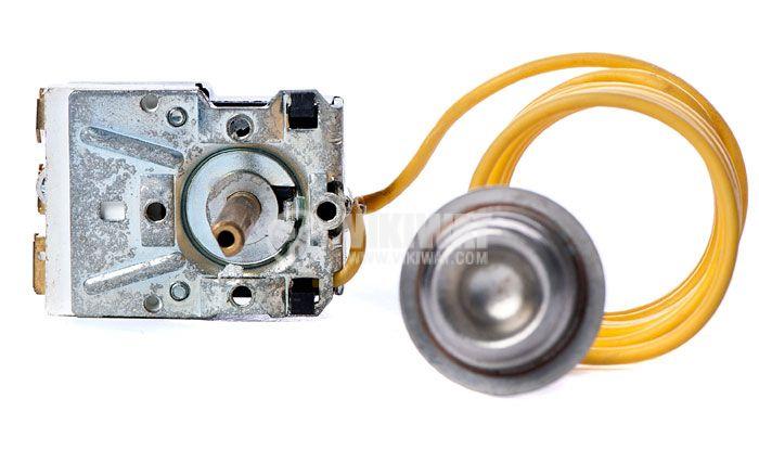 Терморегулатор, капилярен, WY90-965-22XA, +30 °C +90 °C, NO+NC, 16 A / 250 VAC - 1