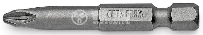 Накрайник кръстат PZ3, 50mm