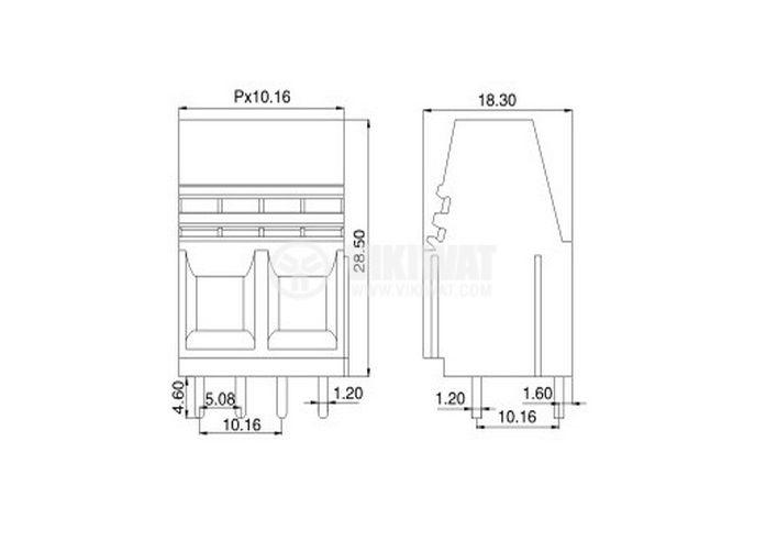 PCB,терминален,блок - 3