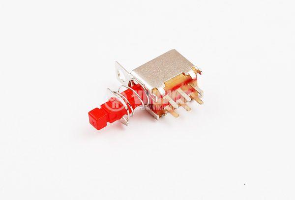 Превключвател, изостат, 50 V, 0.5 A ON-(ON), DPST, задържащ