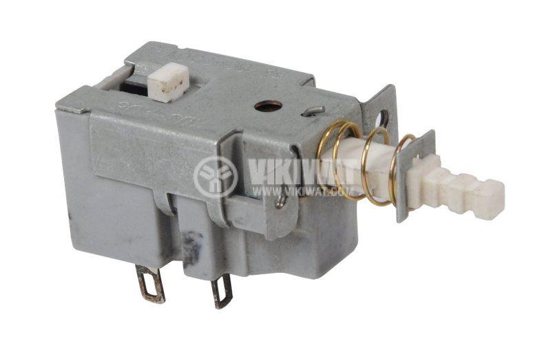 Switch, isostat KDC-A05, 250VAC, DPST, NO, retentive - 1