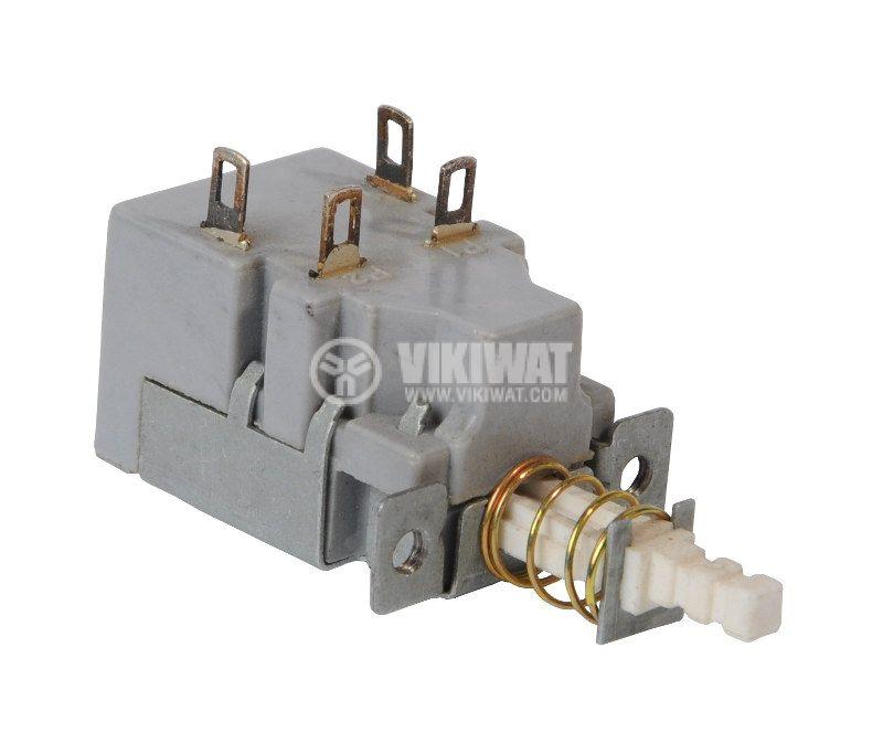 Превключвател, изостат KDC-A05, 250VAC, DPST, NO, задържащ - 2