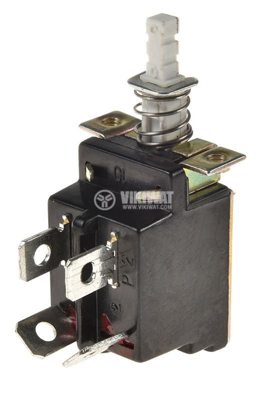 Button switch KDC-A04 ON-OFF, 8A/250VAC - 1