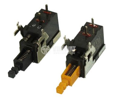 Button switch Q-9860 ON/OFF, 3A/250VAC