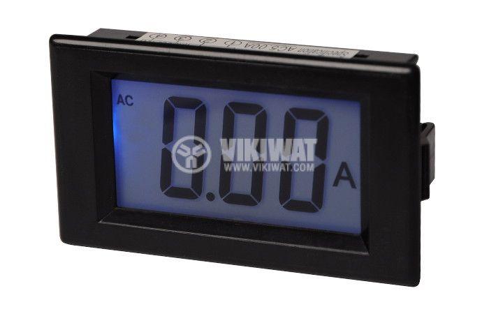 Digital ammeter, 0-5A AC, SFD-85 - 1