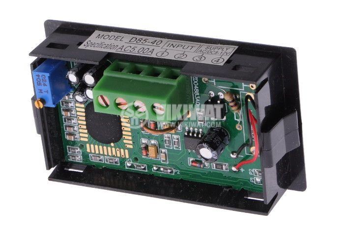 Digital ammeter, 0-5A AC, SFD-85 - 2