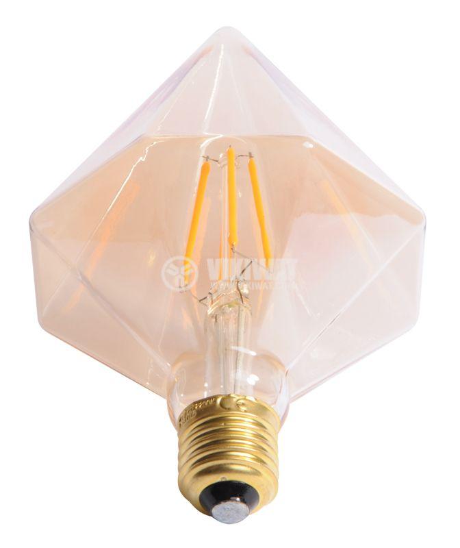 LED лампа BB53-00420, Е27, 4W, 2200K, 350LM, 2200K топло бяло - 8