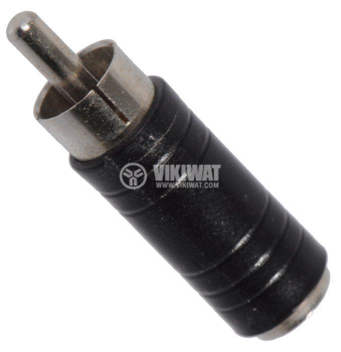 Преход, plug 3.5 mono F-RCA M - 1