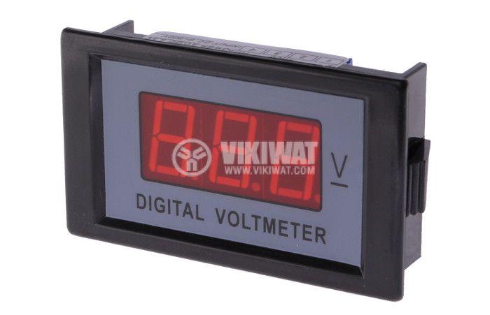 Digital voltmeter, 0-600VDC, SFD-85 - 1