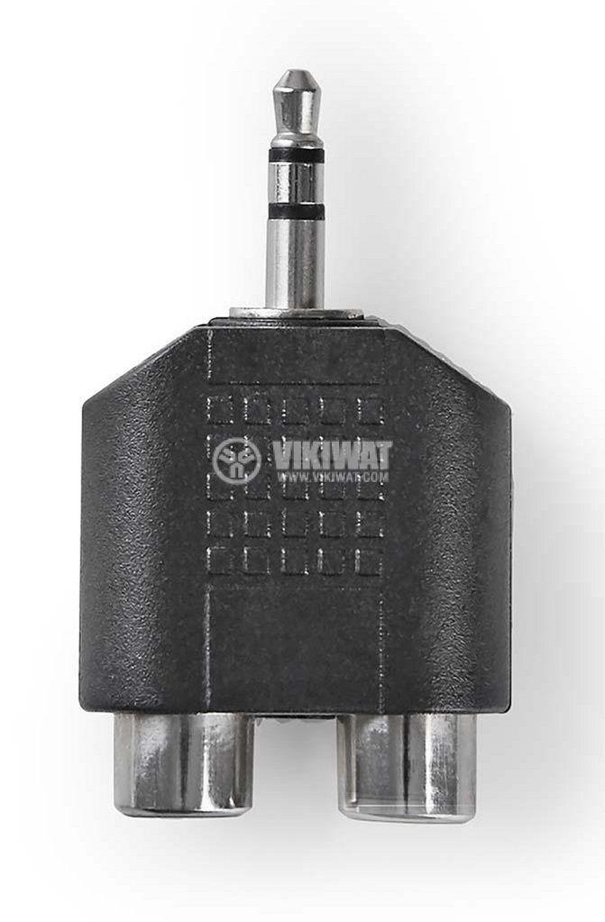 Преход 3.5mm/2xRCA - 1