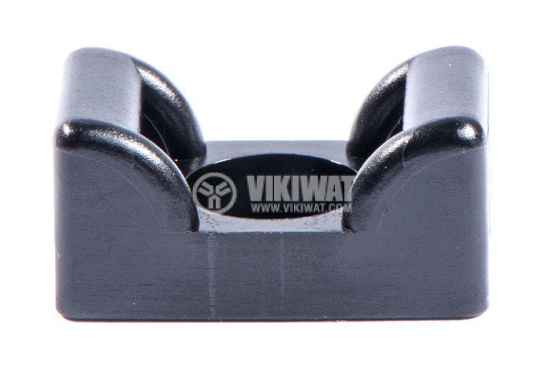 Holder for cable bandage KR8G5-PA66HS-BK, 12x25mm, black - 2