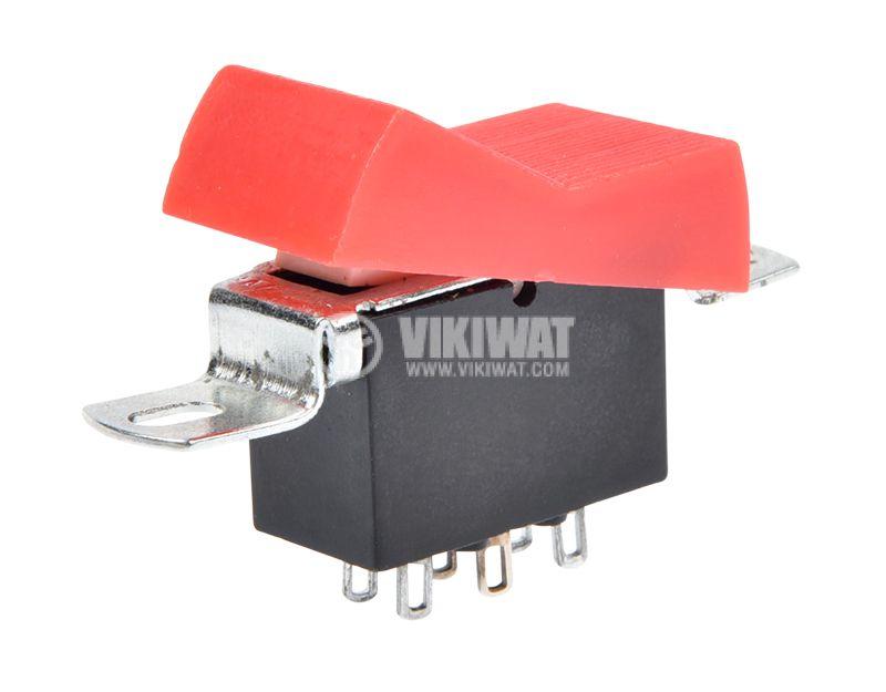 Rocker Switch, 2-position, ON-ON, 10A/250VAC, hole size 36x18mm - 4