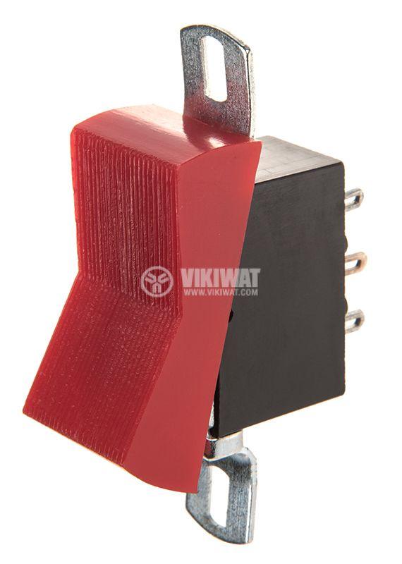 Rocker Switch, 2-position, ON-ON, 10A/250VAC, hole size 36x18mm - 1
