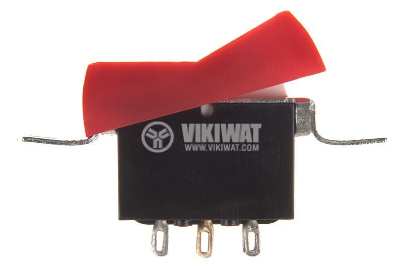 Rocker Switch, 2-position, ON-ON, 10A/250VAC, hole size 36x18mm - 2