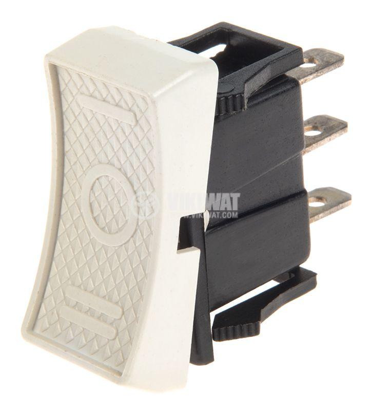 Rocker Switch, 2-position, ON-ON, 3A/250VAC, hole size 29x13mm - 1