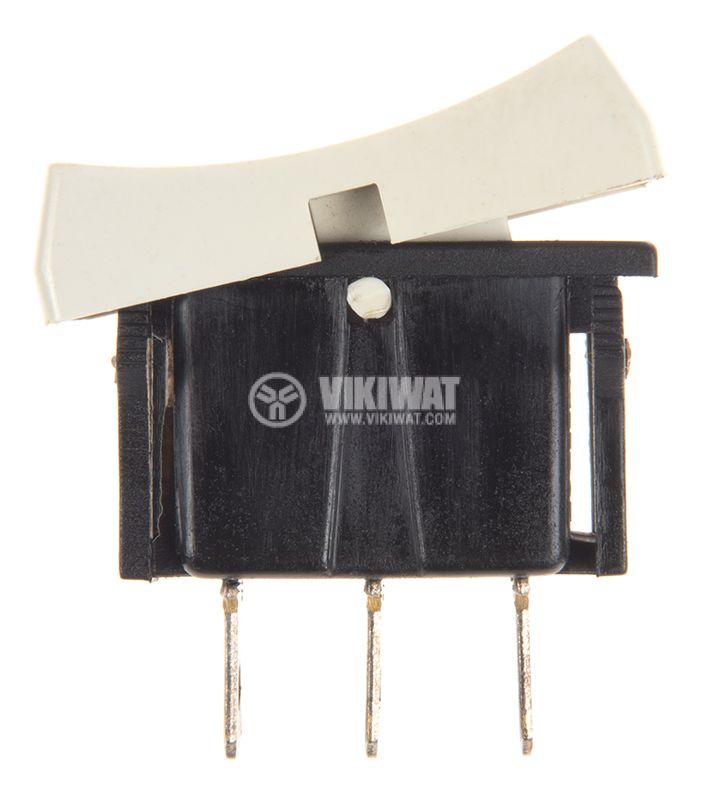 Rocker Switch, 2-position, ON-ON, 3A/250VAC, hole size 29x13mm - 2