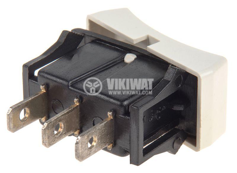 Rocker Switch, 2-position, ON-ON, 3A/250VAC, hole size 29x13mm - 3
