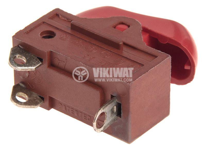Rocker превключвател, 3 позиции, OFF-ON-ON, 16A/250VAC, отвор 27х13mm - 3
