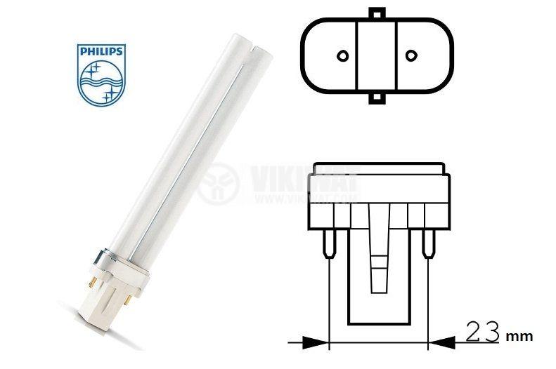 Енергоспестяваща лампа PL, 11 W, 2P