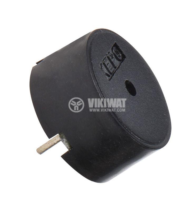 Пиезо зумер, KPT-G1340P35A, 9Vp-p, 80dB, 4kHz, Ф12.7x6.8mm, без генератор - 1