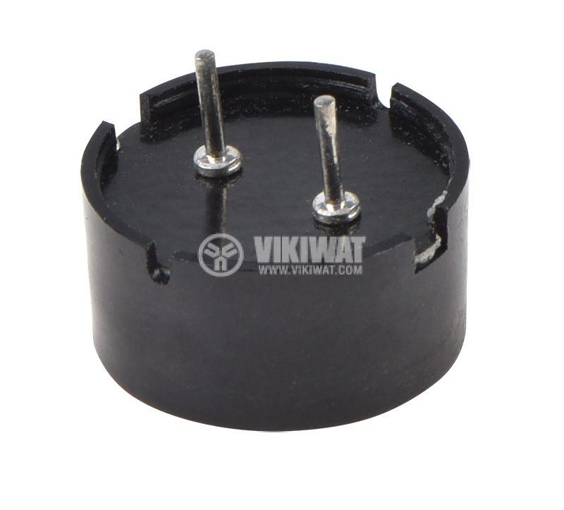 Пиезо зумер, KPT-G1340P35A, 9Vp-p, 80dB, 4kHz, Ф12.7x6.8mm, без генератор - 2