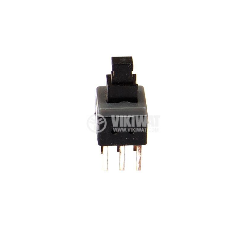 Превключвател тип изостат 50 V, 0.5,A, DPDT, незадържащ