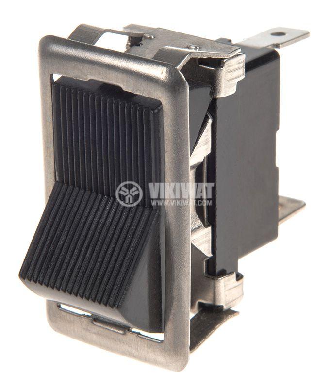 Rocker превключвател, 3 позиции, ON-OFF-ON, 35A/12VDC, отвор 37x18mm - 1