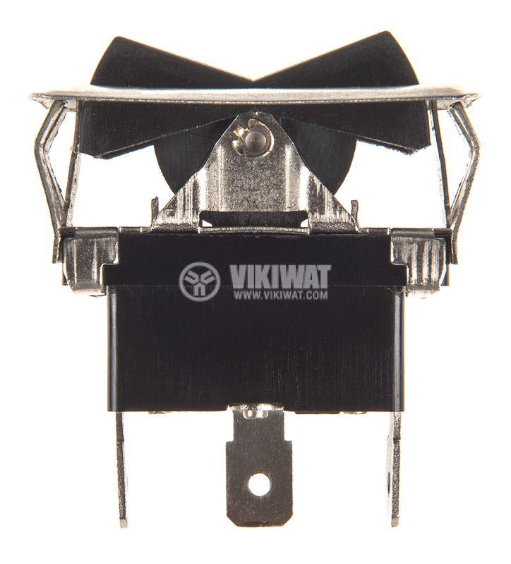 Rocker превключвател, 3 позиции, ON-OFF-ON, 35A/12VDC, отвор 37x18mm - 2