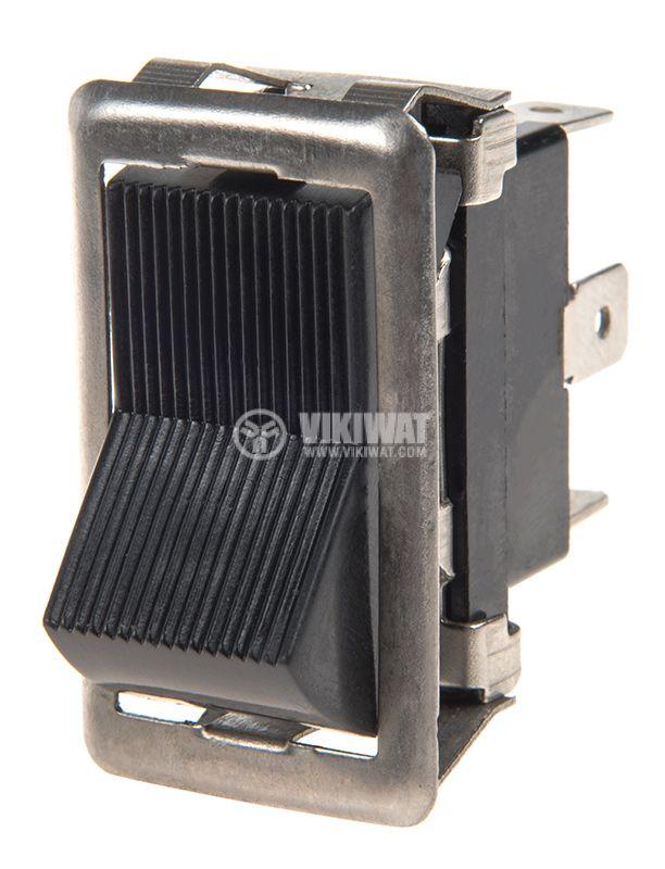 Rocker превключвател, 2 позиции, ON-ON, 35A/12VDC, отвор 37x18mm - 1