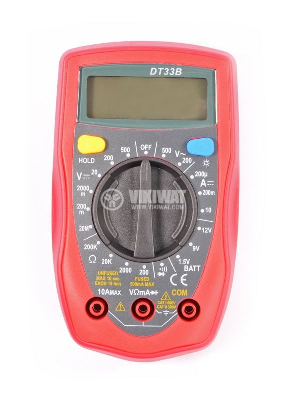 Multimeter DT 33D - 1