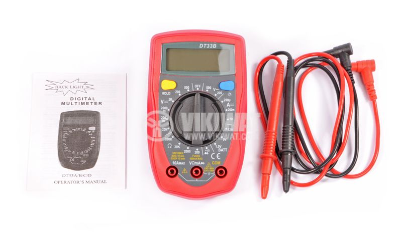 Multimeter DT 33D - 4