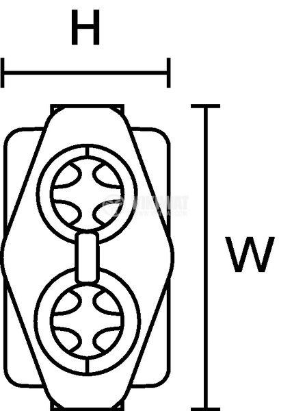 Кабелна муфа с лустер клема - 5
