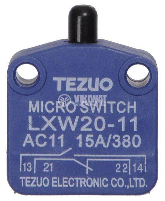 Микропревключвател с бутон - 1