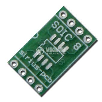 Circuit board SOIC8 to DIP8