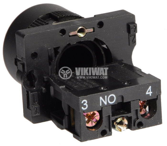 Бутон LAY5-ЕА21, 400VAC/10A, SPST - NО, черен - 3